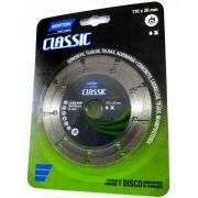 Disco Diamantado Classic Segmentado 110mm X 20mm Norton