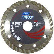 Disco Diamantado Classic Turbo 110mm X 20mm Norton