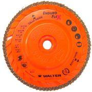Disco Flap Lamelar Enduro-flex 7 Pol Grão 120 - Walter