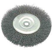 Escova Circular Aço Inox Ondulada 4 X 1 X 1/2 Pol