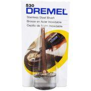 Escova Circular Aço Inoxidável 3/4 Pol. Dremel 530