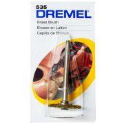 Escova Circular Latão 3/4 Pol. para Retífica Dremel 535