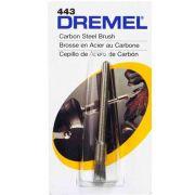 Escova Pincel Aço Carbono 1/8 Pol. Dremel 443