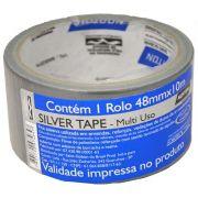 Fita Silver Tape Prata Multi Uso 48mm X 10m Norton