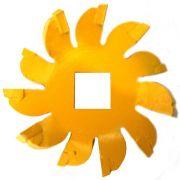 Fresa Cortadora Amarela 3/4 Pol. para Cortador de Paredes Mega
