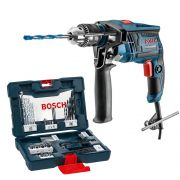 Furadeira de Impacto Bosch coGSB 13 RE m 41 Acessórios