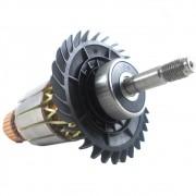 Induzido Rotor Para Esmerilhadeira GWS 22-230 LVI Bosch - Skil - Dremel - 1604011297