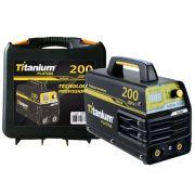 Inversora de Solda 200A Titanium Platina MMA200 Bivolt