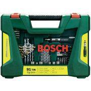 Bits e Brocas V - Line Titânio 91 peças Bosch