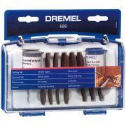 Kit Conjunto de Corte para Micro Retífica Dremel 688