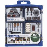 Kit de 160 Peças Uso Geral Dremel 710-RW2 Dremel