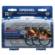 Kit Discos de Corte Speedclick Dremel SC688-01
