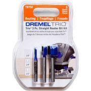 Kit Fresas Especiais para Dremel Trio com 3 Peças Dremel TR750