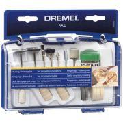 Kit Limpeza e Polimento para Micro Retífica Dremel 684 01