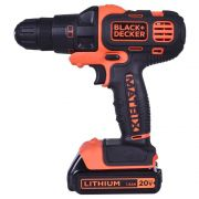 Kit Parafusadeira 6 em 1 Matrix Black & Decker 20V Íon Lítio
