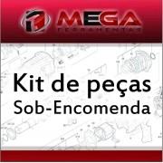 kit peça  Martelo Rompedor Makita Hm0870c