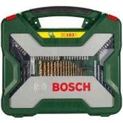 Maleta de Ferramentas e Acessórios X Line com 103 Peças Bosch