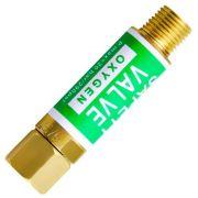 Válvula Corta Fogo Para Regulador Oxigênio