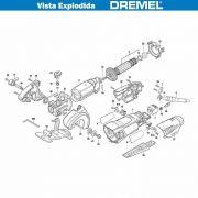 VISTA EXPLODIDA PEÇAS P/ DREMEL SAW MAX SM20 - F013SM2050 - 220V