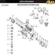 VISTA EXPLODIDA PEÇAS P/ MULTIFUNÇÃO AWT MF10,8 - 110V 220V