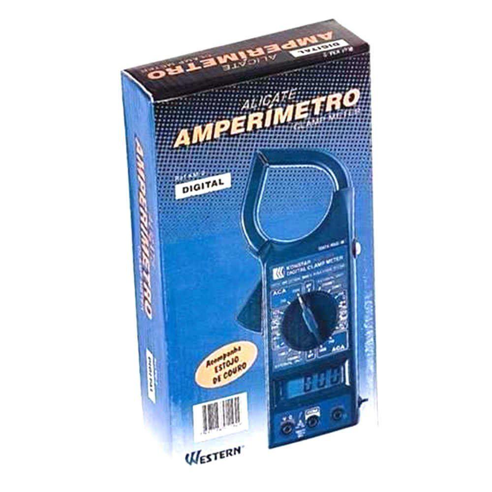 Alicate Amperímetro Digital Western
