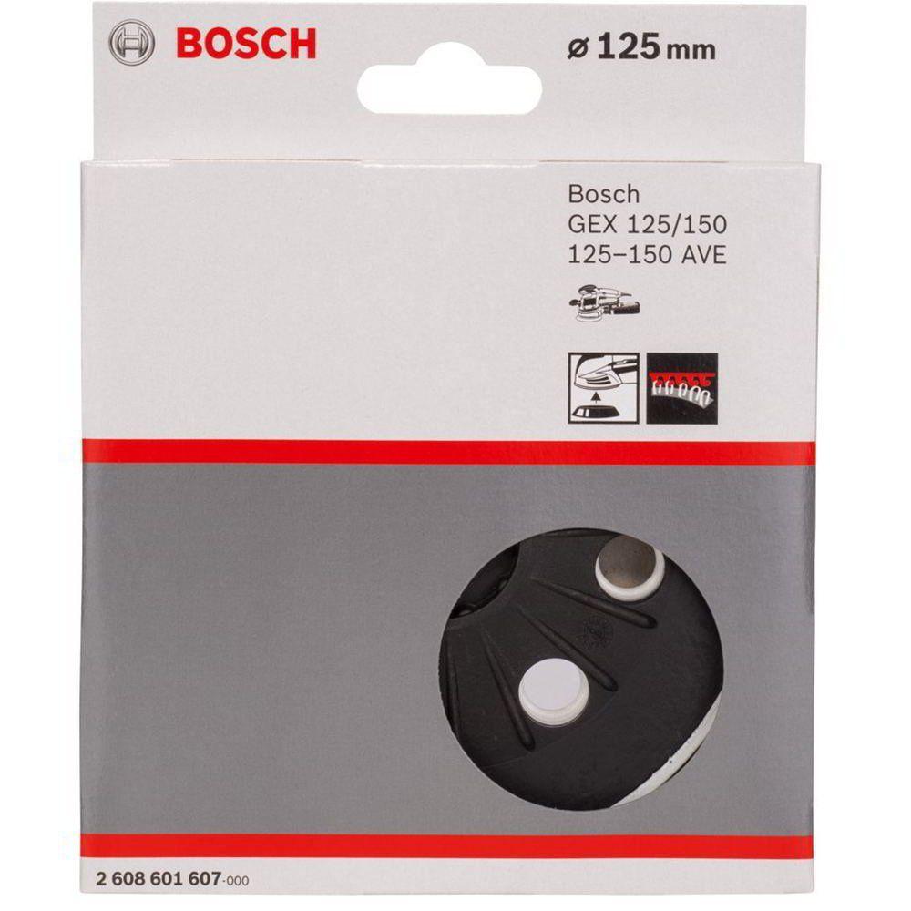 Almofada Velcro P/ Lixadeira Gex 125/150/125-150 Ave - Bosch