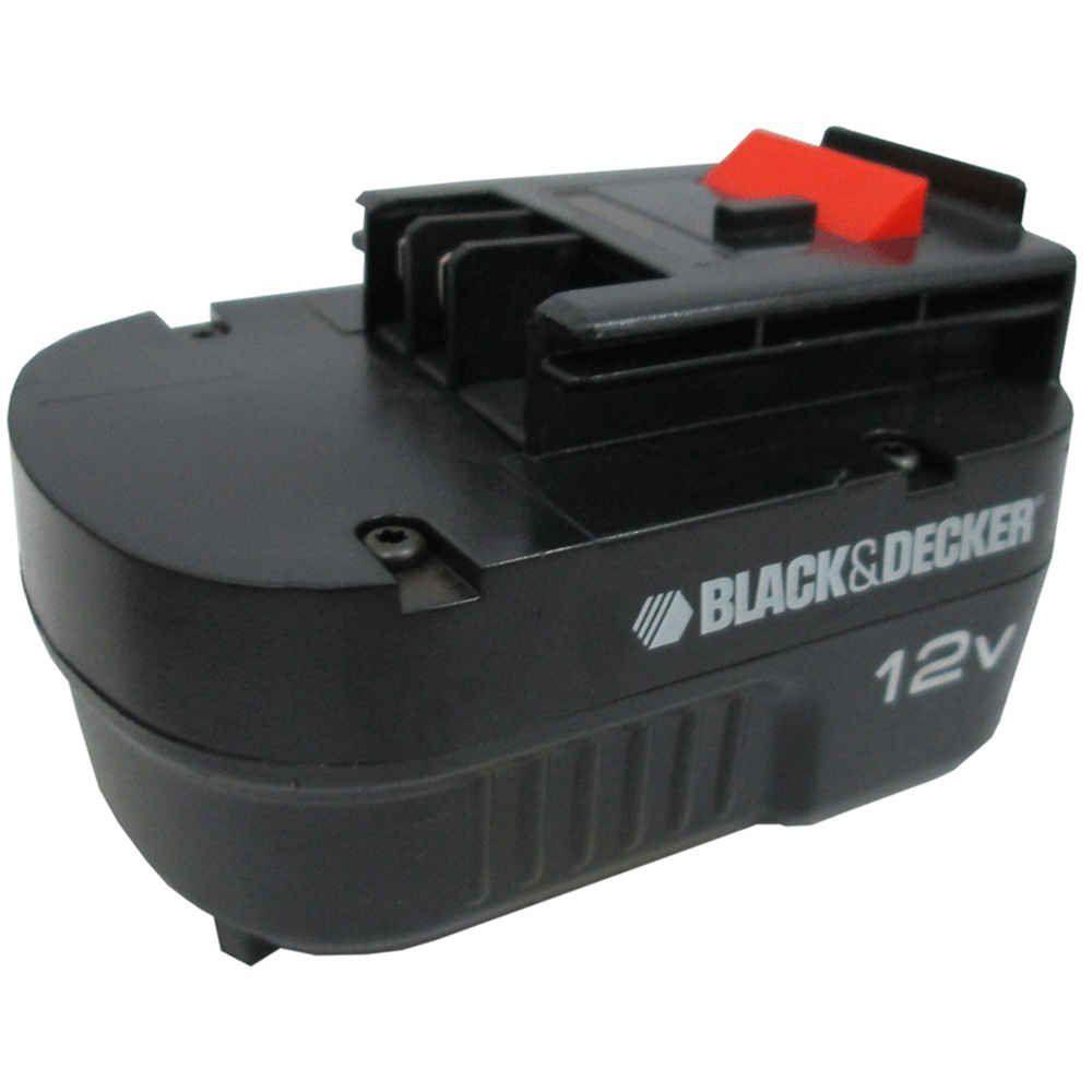Bateria para Furadeira e Parafusadeira GC1200 12V Tipo 1 Black & Decker