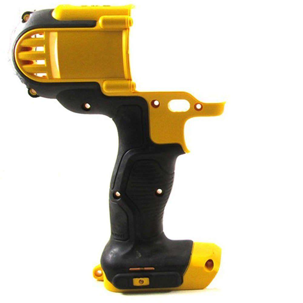 Carcaça Motor Amarela / Preta para Parafusadeira Dcd985 Dewalt - Black - Decker - Stanley - N043352SV
