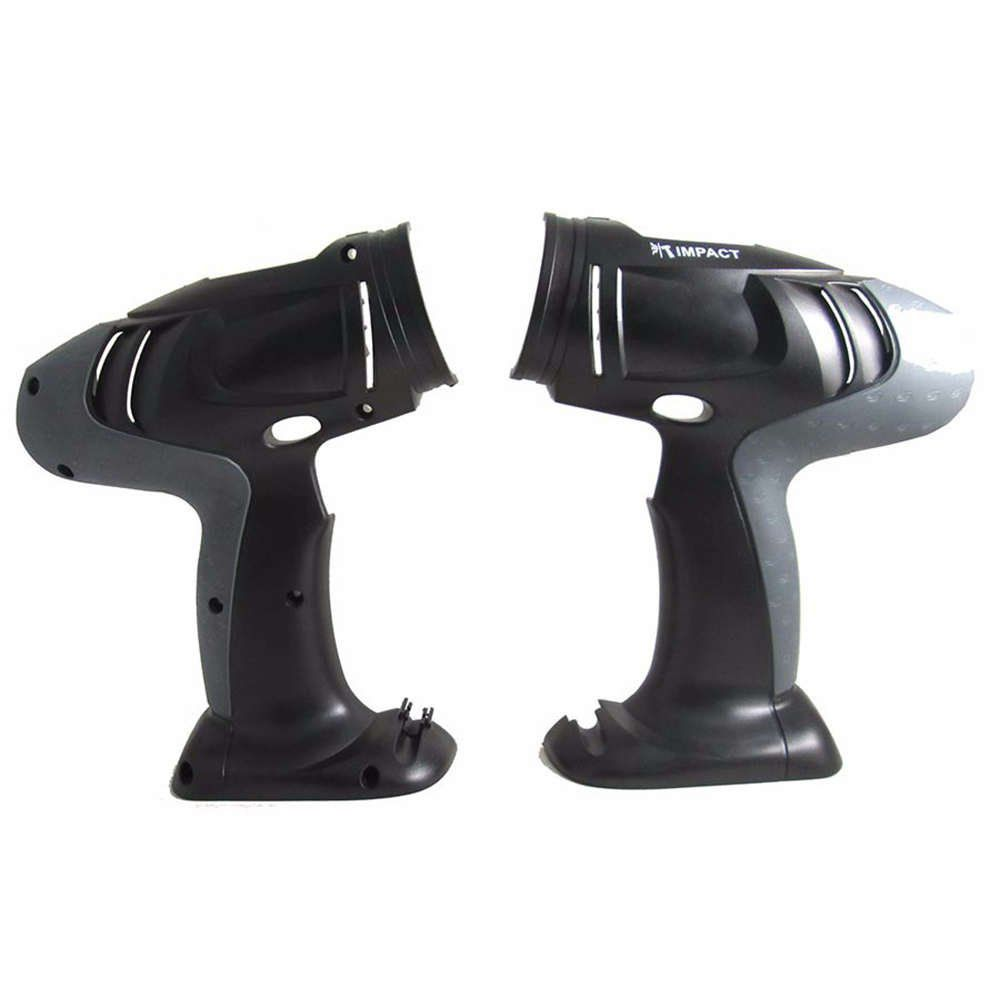 Carcaça Motor para parafusadeira Preta/cinza - Bosch - Skil - Dremel - F000601149