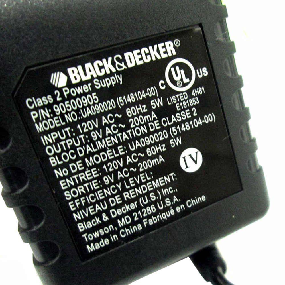 CARREGADOR 120V STANLEY BLACK & DECKER DEWALT 90500905-01