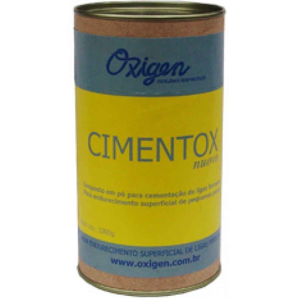 Cimentox Composto em Pó para Cementação Ferrosas Oxigen 1kg