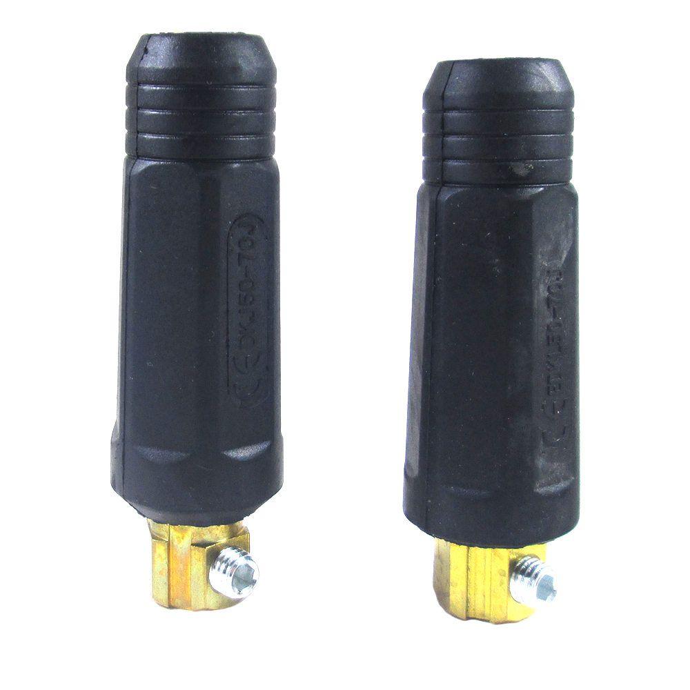 Conector com Borracha Para Cabos De Solda - 12,80mm - Ômega