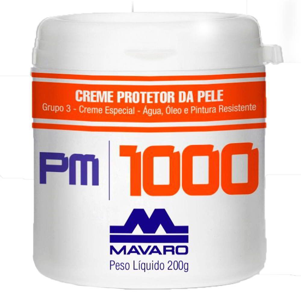 Creme Protetor de Pele PM1000 Mavaro 200gr