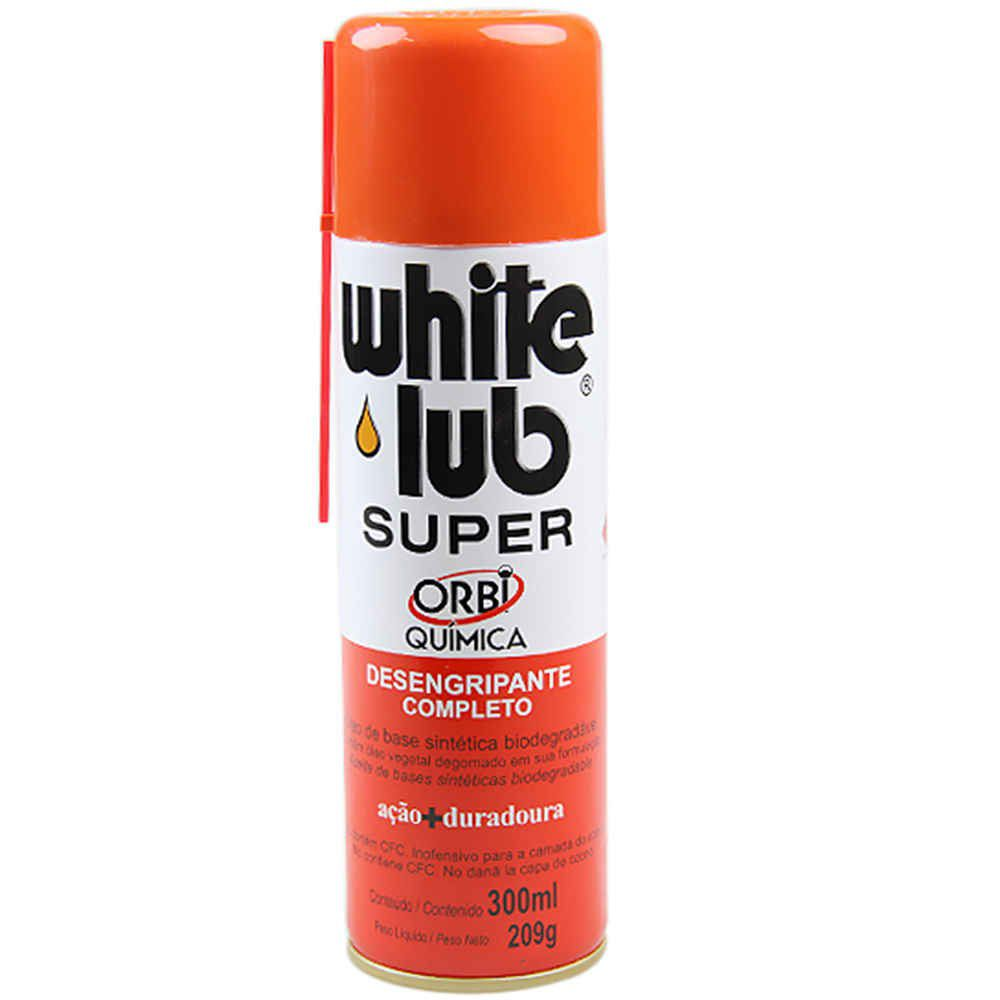 Desengripante Spray White Lub Super 300ml Orbi Qúimica