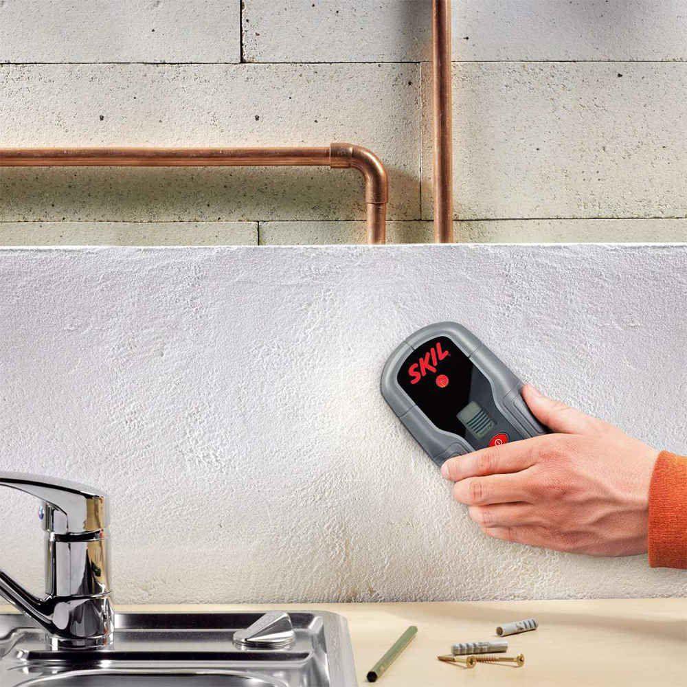 Detector Digital de Materiais Ferro Fios Cobre DT 0551 Skil