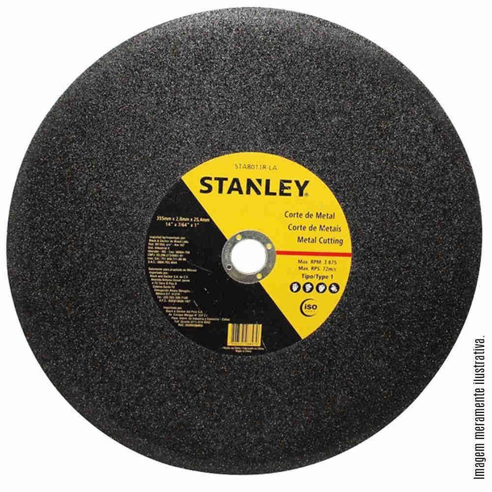 Disco Corte 14 X 2,8 X 1 Pol. Para Metal Stanley STA8011R-LA 10 pcs