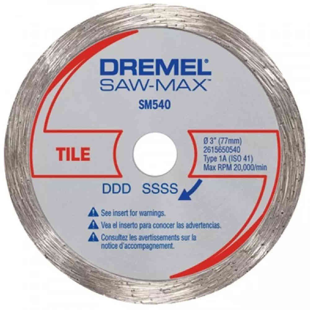 Disco Corte Diamantado para Azulejos para Saw Max Dremel SM540