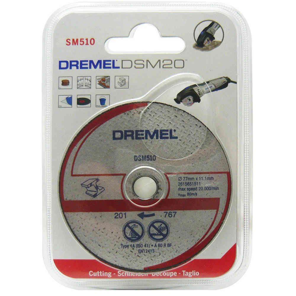 Disco Corte Metais para Saw Max Dremel SM510