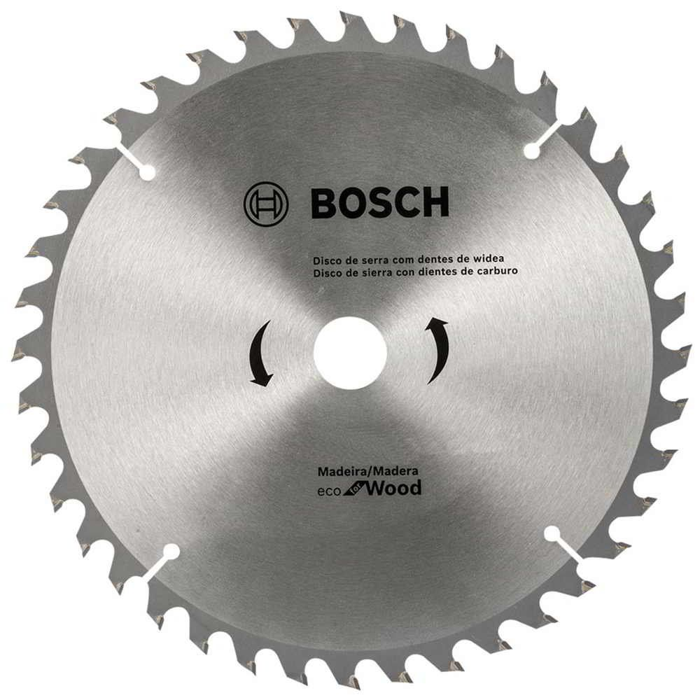 Disco de Serra Circular 10 Pol. Eco Madeira 60 dentes Bosch