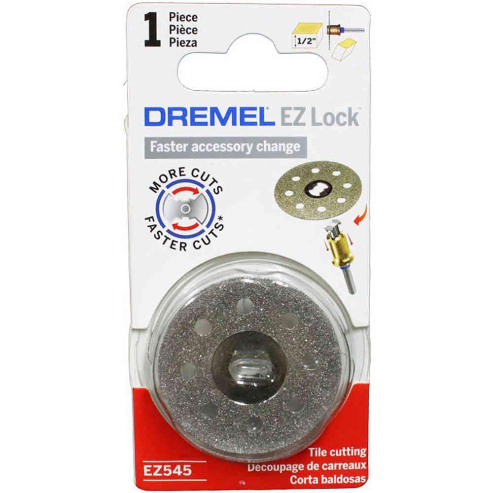 Disco Diamantado 1/2 Pol. EZ Lock para Micro Retífica Dremel EZ545