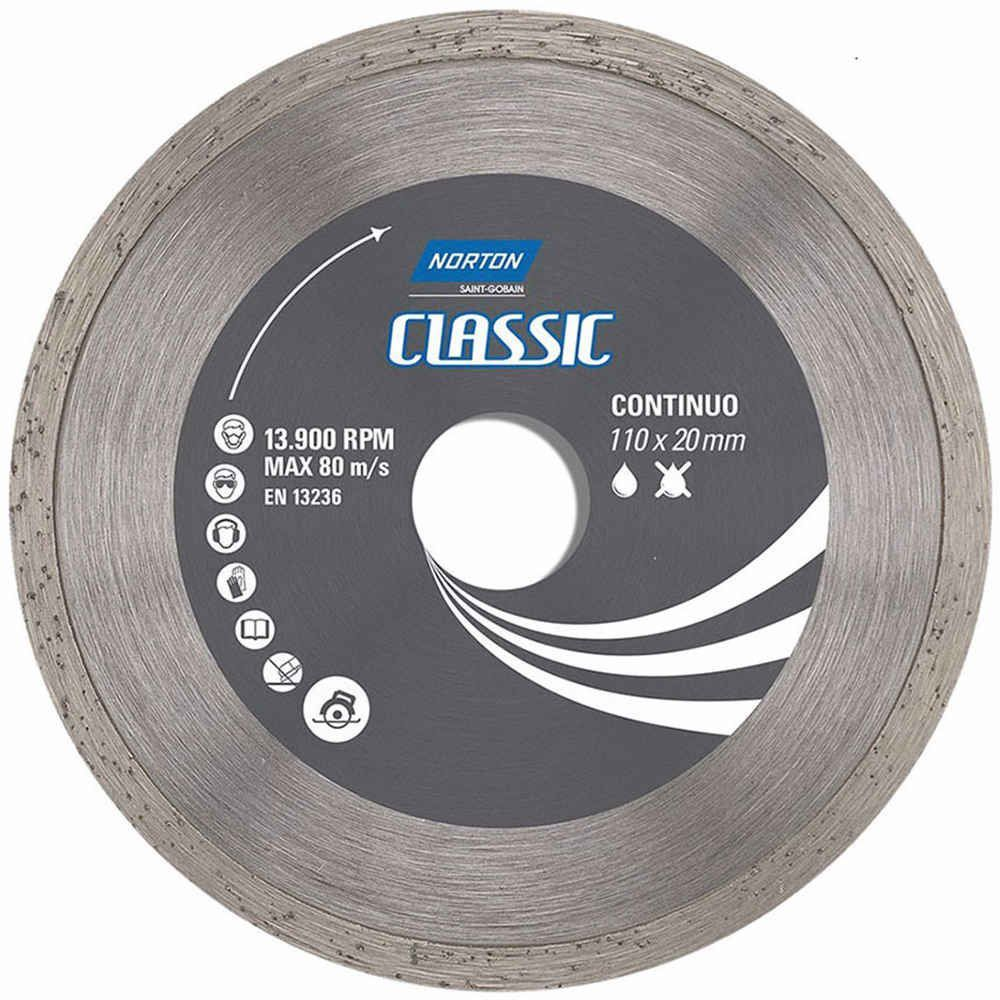 Rebolo Disco Diamantado 4.3/8'' Classic Continuo