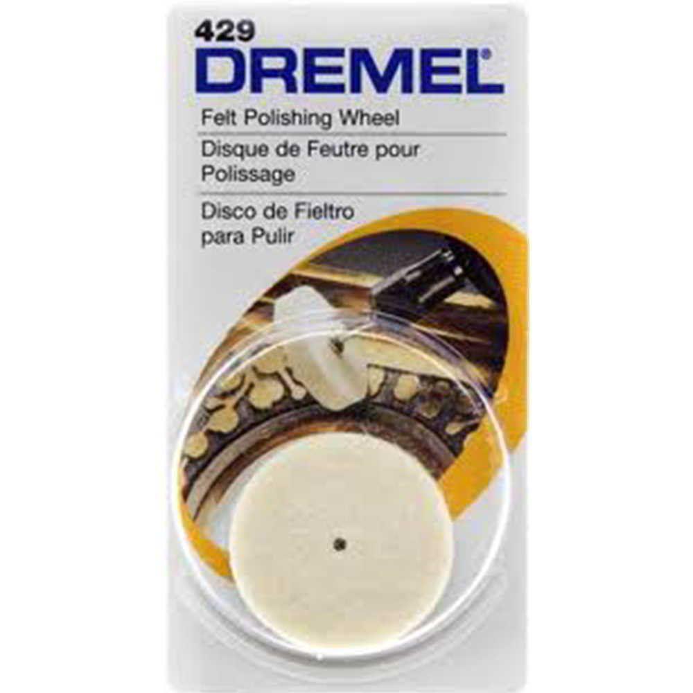 Disco Feltro 1 Pol. para Micro Retífica Dremel 429