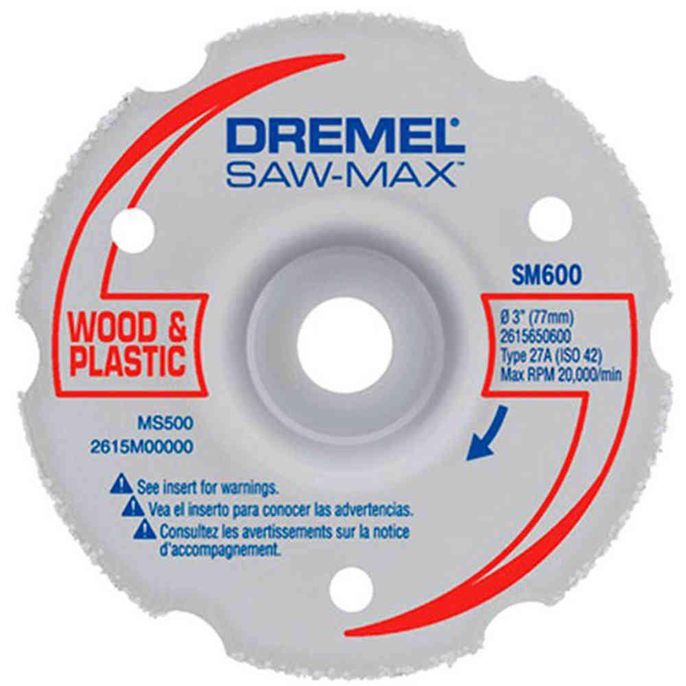 Disco Metal Multiuso para Corte Reto para Saw Max Dremel SM600