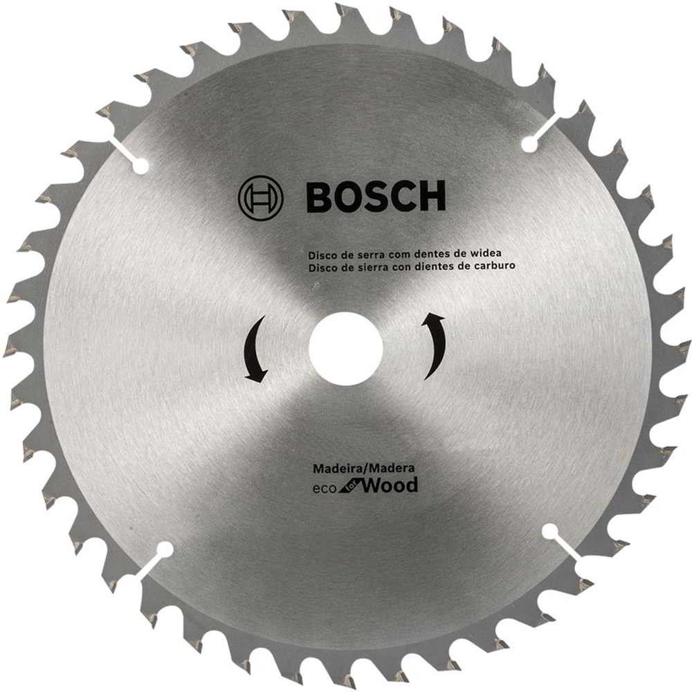 Disco Serra Circular 9.1/4 Pol. Eco Madeira 60 Dentes Bosch