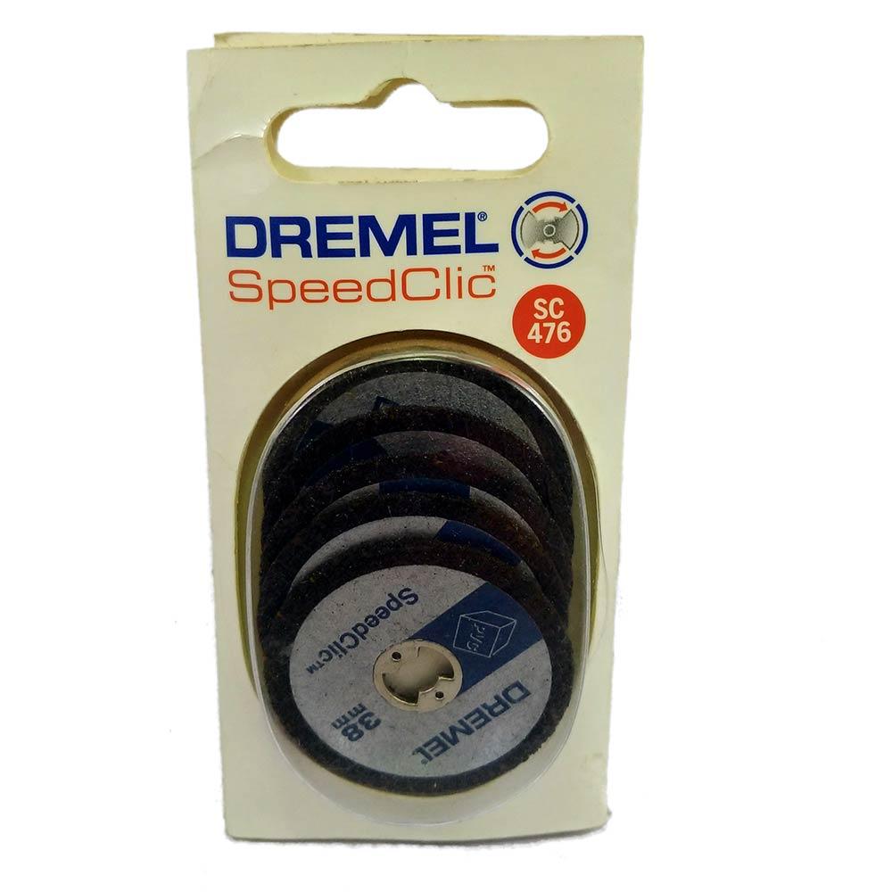 Dremel EZ SpeedClic SC476 kit Discos para Plastico 38MM