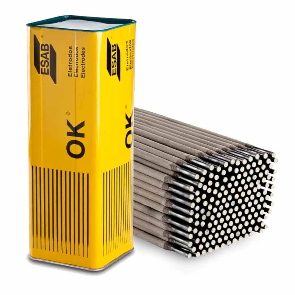 Eletrodo Revestido 2,50 mm lata com 18kg OK 46.00 - Esab