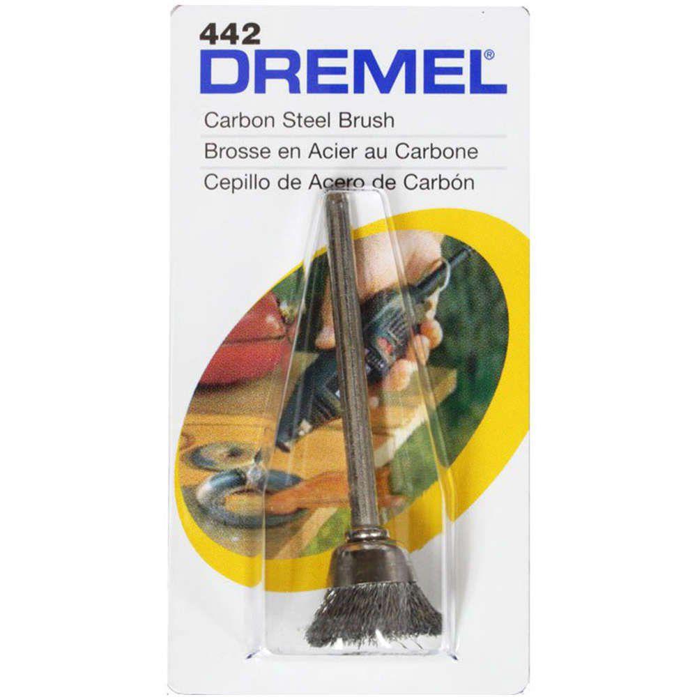 Escova Copo Aço Carbono 1/2 Pol. Dremel 442