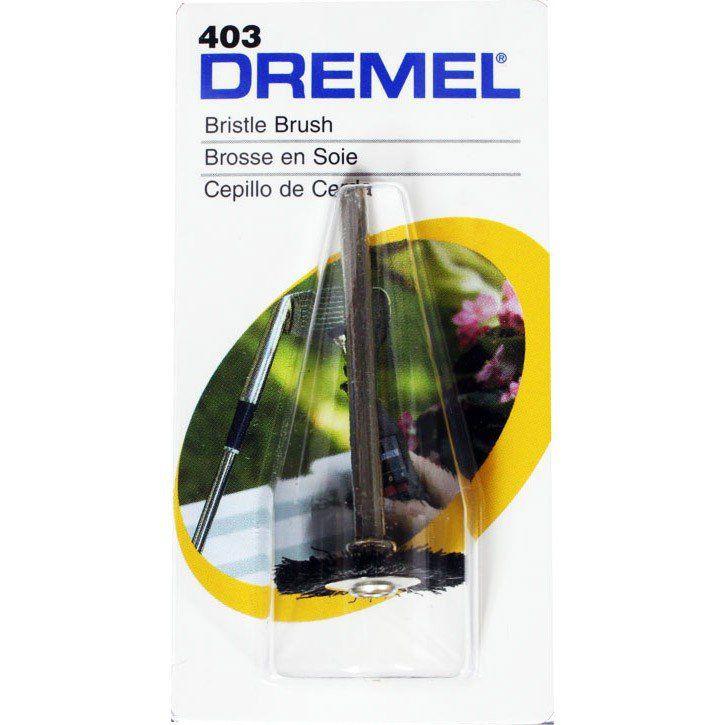 Escova de Cerdas Circular 3/4 Pol. Dremel 403