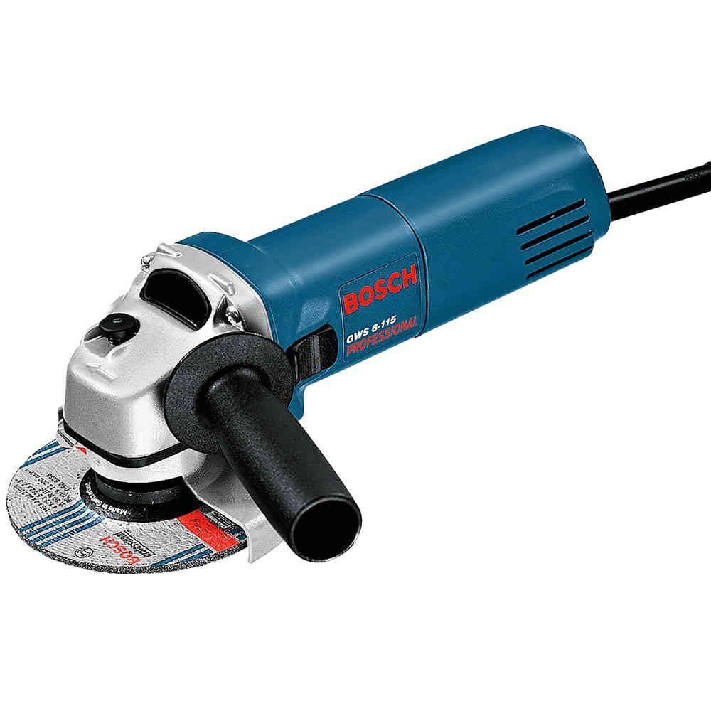 Esmerilhadeira 4.1/2 Pol. 600 Watts GWS 6 115 Bosch