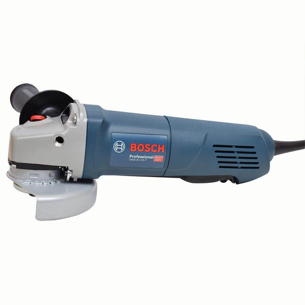 """Esmerilhadeira 4.1/2"""" 220V./ 850W. 1820 / Gws 8-115P - Bosch"""